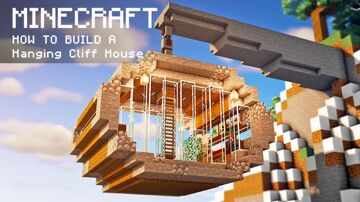 Minecraft: How To Build a Hanging House Minecraft Map & Project