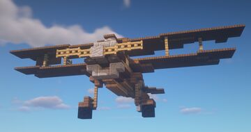Biplane - 'Parrot' Minecraft Map & Project