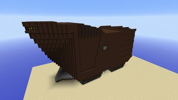 Jawa Sandcrawler Minecraft Map & Project