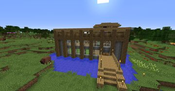 Plains Mansion Minecraft Map & Project