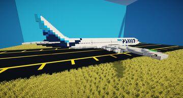 Kuwait Airways 777-300ER [1:1] Minecraft Map & Project