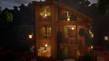 Autumn house Minecraft Map & Project