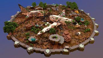 💥CRASHED PLANE   ARENA PVP 💥 PHOENIXBUILDS Minecraft Map & Project