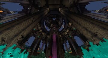 Nether Hub I built Minecraft Map & Project