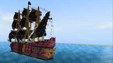 Minecraft EPIC Pirate Ship! Minecraft Map & Project