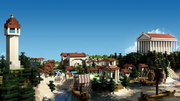 Greek City Minecraft Map & Project