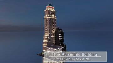 The Mercantile Building at 4 East 40th Street | New Limesville City | NL | UCS Minecraft Map & Project