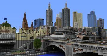 Melbourne Australia Minecraft Map & Project