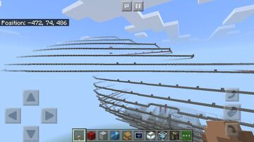 U.S.S. Voyager 1:1 Scale Minecraft Map & Project