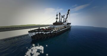M.V. Pride of Maevant Fishing Trawler Minecraft Map & Project