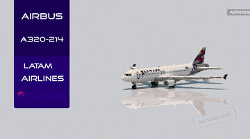 Airbus A320 LATAM Chile [+Download] [C] Minecraft Map & Project
