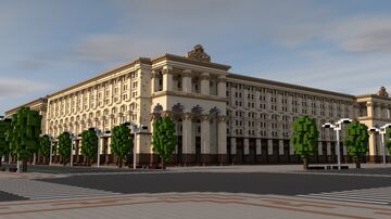 Stalin's architecture. THE USSR. Minecraft Map & Project