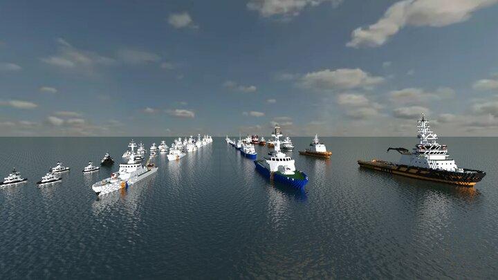 Popular Map : Coast Guard - Patrol ship, boat - rescue ship , recuse fire ship