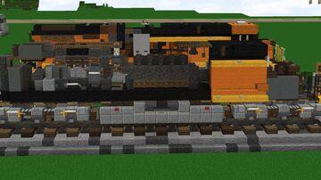 1.5:1 BNSF GE ES44AC interior Minecraft Map & Project