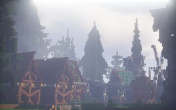 Island of  Memories By Chrostus Minecraft Map & Project