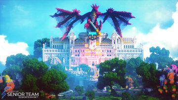 Epic Palace Dragon Minecraft Map & Project