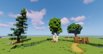 Canadian Trees Minecraft Map & Project
