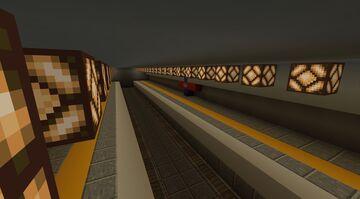 Underground Station Platforms Minecraft Map & Project