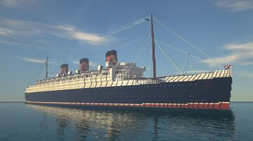 RMS Queen Mary (Exterior Model) Minecraft Map & Project