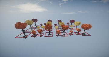 ||Minecraft|| Autumn Tree pack ||xNessuno|| Minecraft Map & Project