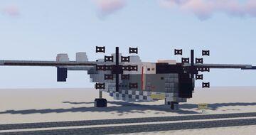 [1.5:1] Grumman C-2 Greyhound Minecraft Map & Project