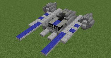 U-Wing gunship | Minecraft 1.12.2 Minecraft Map & Project
