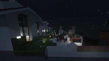 1024x Modern House Minecraft Map & Project