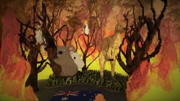Australian Bushfires Minecraft Map & Project