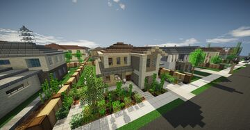 An upper middle class home #3 - The  mediterranean Minecraft Map & Project