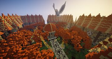 Spawn Faction + Warzone Minecraft Map & Project