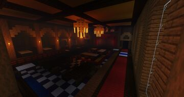 Assassin's Creed: Unity - Café Théâtre Minecraft Map & Project