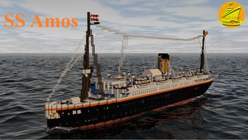 SS AMOS [FULL INTERIOR] Minecraft Map & Project