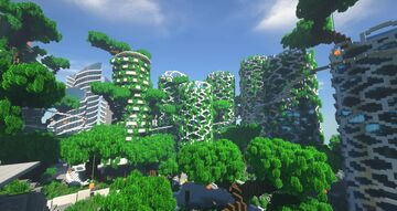 CultCity Serverstadt Minecraft Map & Project