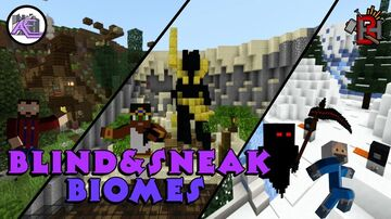 Blind & Sneak Biomes Minecraft Map & Project