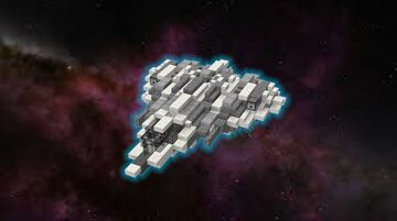Space fighter Bf-b3 dragonfly Minecraft Map & Project