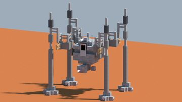 StarWars OG-9 homing spider droid/walker [With download] Minecraft Map & Project