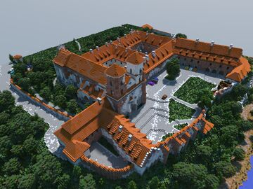 Tyniec Abbey Minecraft Map & Project