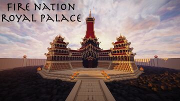 | Fire Nation Royal Palace - Avatar: The Last Airbender | Minecraft Map & Project