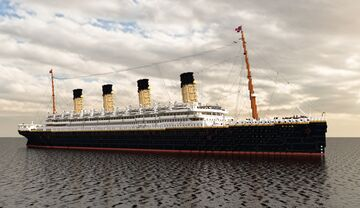 RMS Olympic Minecraft Map & Project