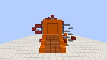 Door 3x3 Minecraft Map & Project