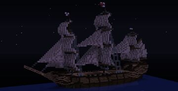 Frigate, 1700s Minecraft Map & Project