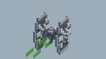 StarWars Tie fighter [With Download] Minecraft Map & Project
