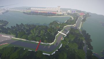 Canadian Grand Prix - Circuit Gilles Villeneuve Minecraft Map & Project