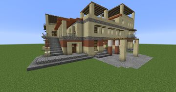 Assassin's Creed Odyssey Mansion Minecraft Map & Project