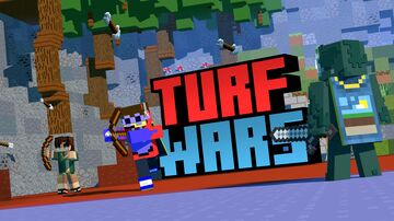 Turf Wars Minecraft Map & Project
