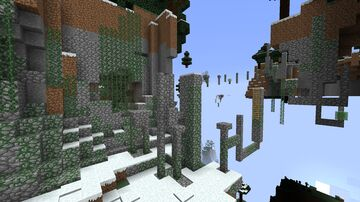 Hill parkour Minecraft Map & Project