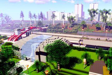 Karlovy Vary - Horni nadrazi (part 3 of project railway KVJG 2020) Minecraft Map & Project