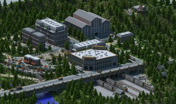 Station, a 24 Player Hunger Games/Survival Games Map Created By Berserker Minecraft Map & Project
