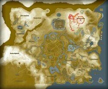 Legend of Zelda: Breath of the Wild 1:1 recreation Minecraft Map & Project