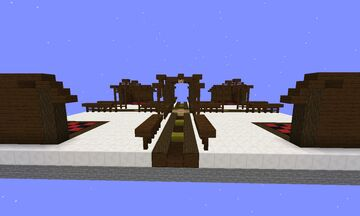 hub small in survival Minecraft Map & Project